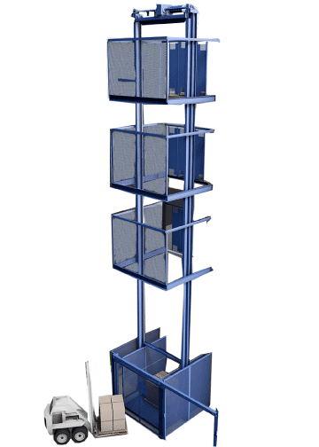 PFlow M Series Lift - rendering